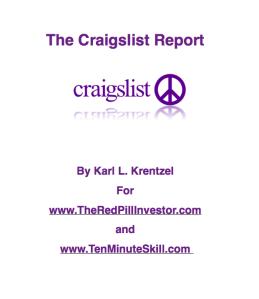 Craigslist Ads for Sellers
