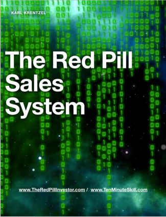 The Red Pill Sales System